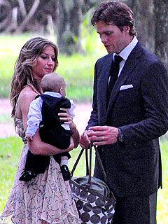 Gisele Bündchen and Tom Brady Take Baby Benjamin to Her Sister's Wedding