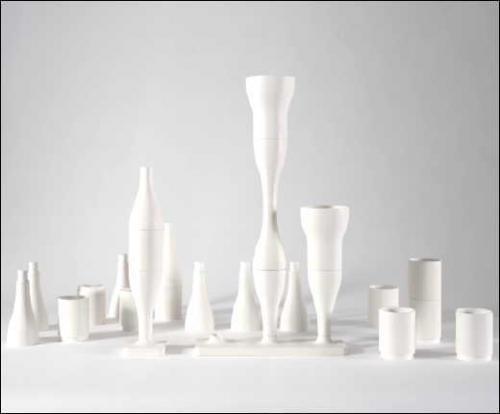 Vases combinatoires - Bouroullec - 1998