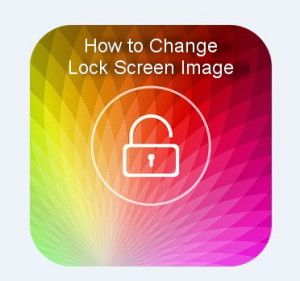 how to change lock screen image on galaxy s6