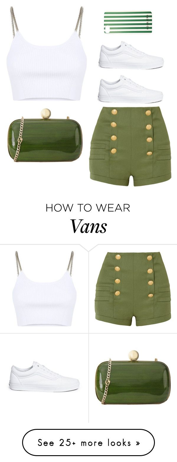 """Untitled #173"" by mmmmrrrr on Polyvore featuring Pierre Balmain, Alexander Wang, Vans and Rodo"