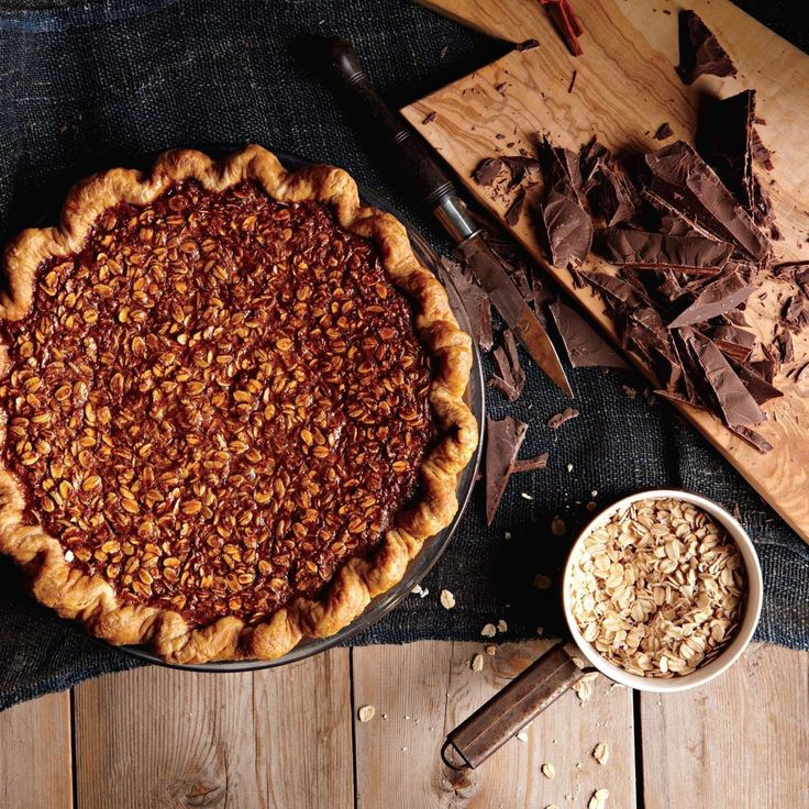 Four & Twenty Blackbirds' Black Bottom Oatmeal Pie on Food52