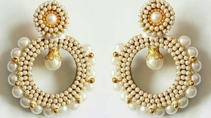 Simple and Easy Quilling Chandbali earrings|how to make chandbali earrings|