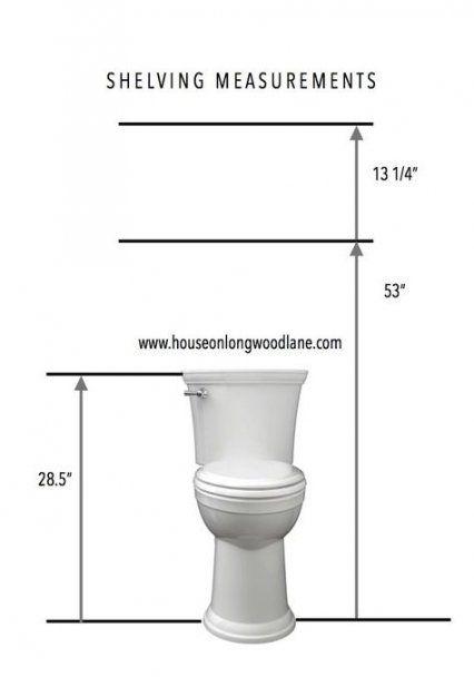 56 Trendy Bathroom Shelf Above Toilet Powder Rooms   – Bathroom *