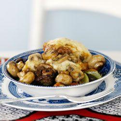 Mushroom dombolo (dumplings)