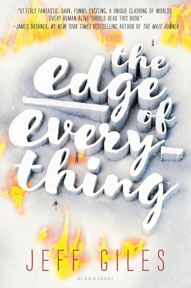 The Edge of Everything: a girl's life is changed forever when she meets a bounty hunter from hell   YA books debuting 2017   new teen fantasy novels 2017