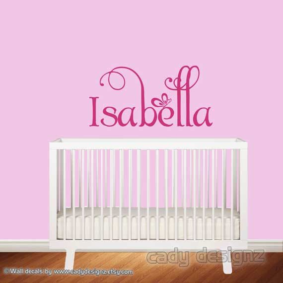 Name Wall Decals For Nursery Tags: 25+ Best Ideas About Custom Wall Decals On Pinterest