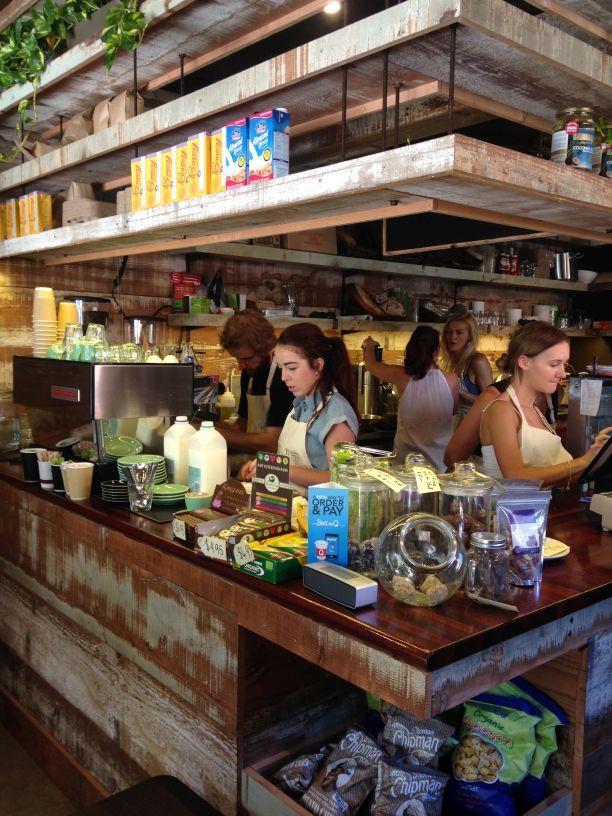Mint Organics cafe, Cronulla, NSW