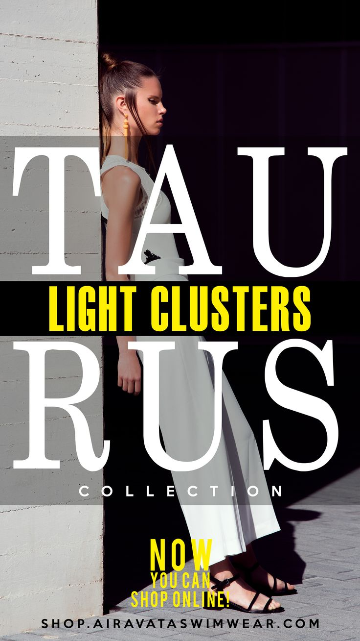 Our new collection it's here! Light Clusters / Taurus Collection