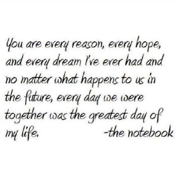 I love Nicolas Sparks