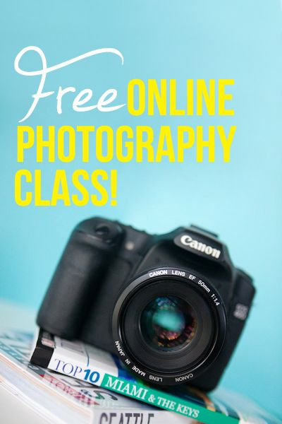 Free online photography class