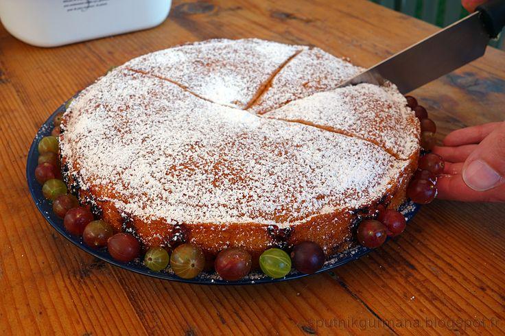 Пирог с крыжовником из телепередачи