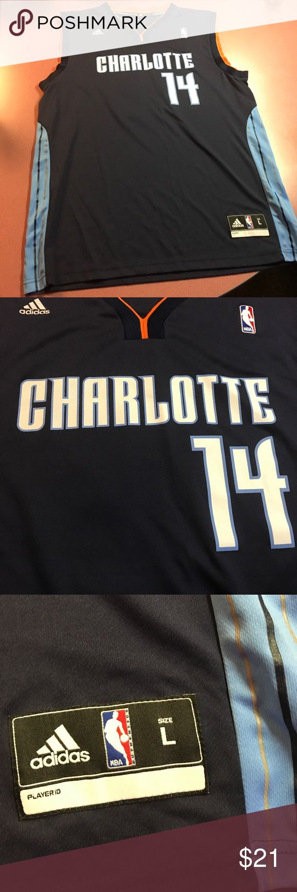 Charlotte Bobcats Michael Kidd-Gilchrist Jersey Hello! Thank you for viewing my listing. This is a Charlotte Bobcats jersey of forward Michael Kidd-Gilchrist. This jersey is pre-owned, but in great condition with no apparent flaws. This is a Size large in Men's. If you have any questions, please do not hesitate to ask. Thank you! adidas Shirts Tees - Short Sleeve