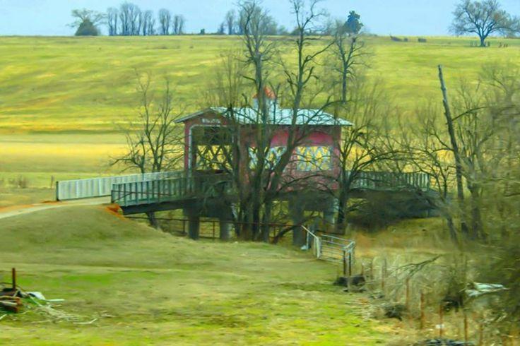 Covered bridge in harrison arkansas covered bridges