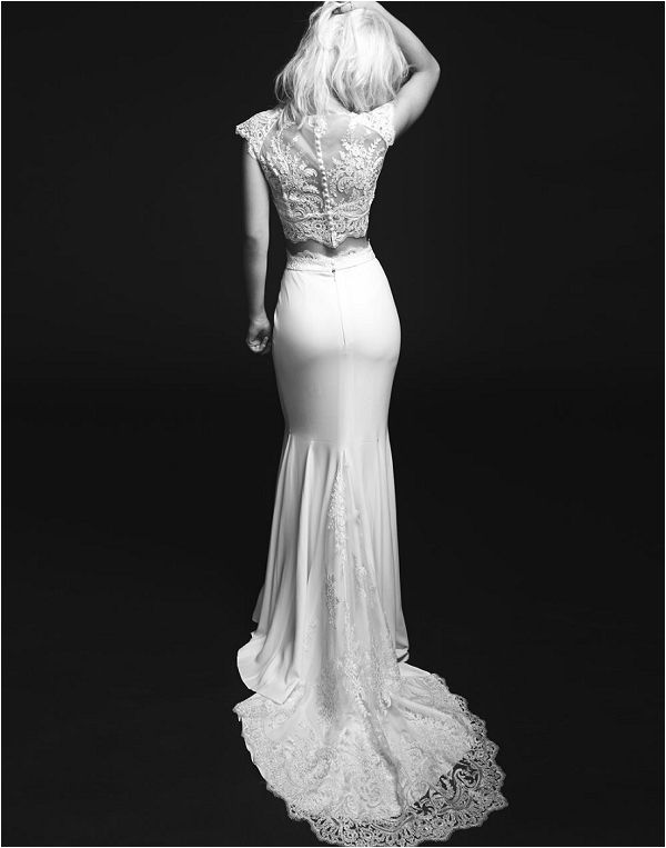 Bridal separates by Rime Arodaky