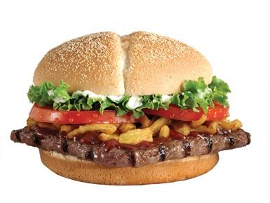 Burger King Steakhouse Burger