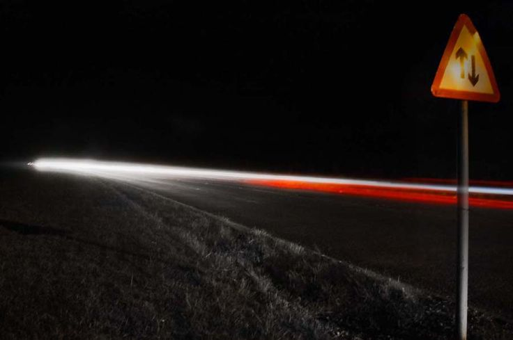 Light Trails Photography - Marske By The Sea