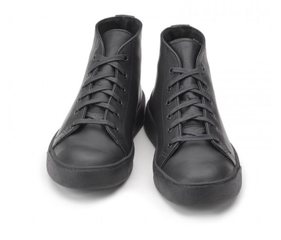 RANCOURT AND COMPANY - Court classic mid mens sneakers. Made in Maine, USA.