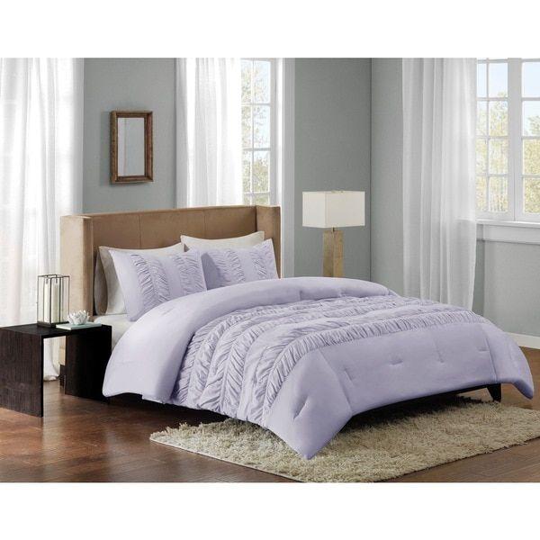 Madison Park Deanna Purple Comforter Mini Set