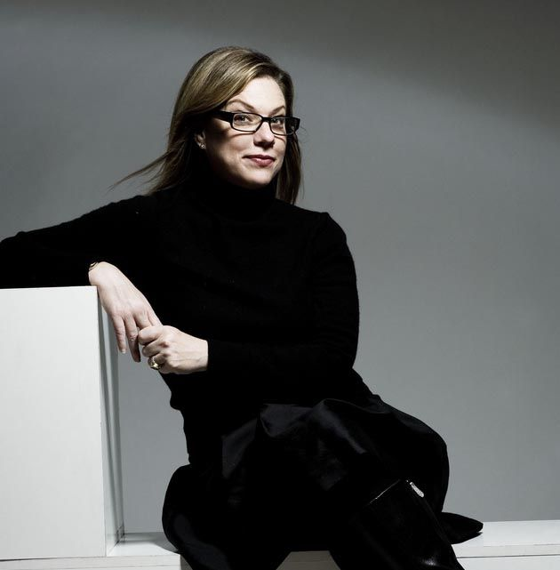 Debbie Millman, host of the Design Matters podcast and one of the smartest people in design.