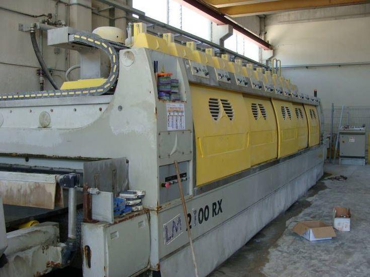 Slab Polishing Line - Simec LM 2100 RX