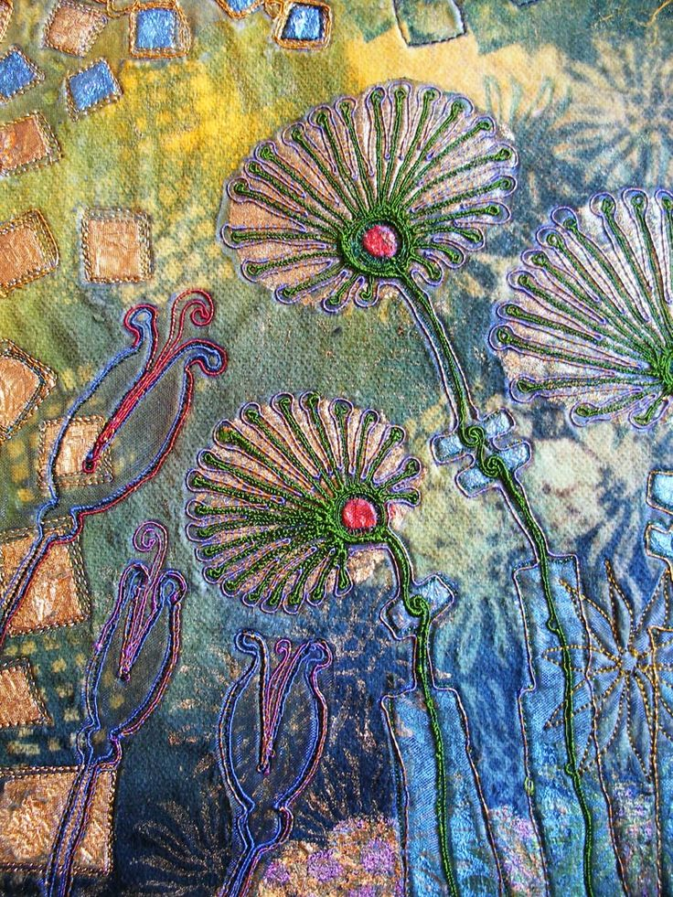 Angie Hughes - stitched textiles - textile art