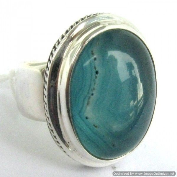 Sterling silver Agate Ring from Lotus Moon - Auckland - List Sell Trade