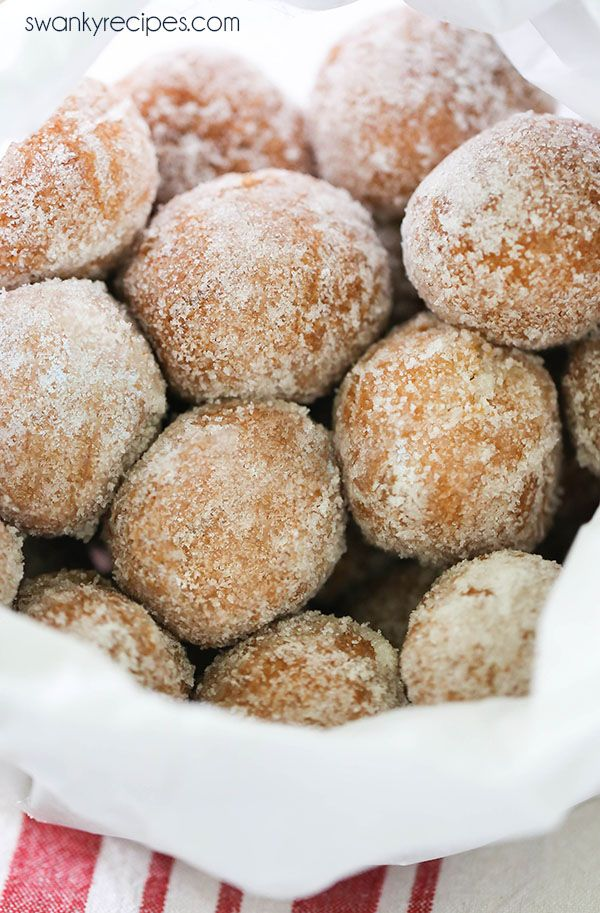 Sugar Donut Holes A No Yeast Rich Cake Donut Hole With Soft Crumb Texture Coated In Sugar These Old Fas Donut Hole Recipe Sour Cream Donut Delicious Donuts