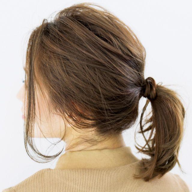 発売中のBAILA7月号では、髪圧高めの人・低めの人に対応したヘアアレンジを紹介し大好評。襟周りに汗をかく季節こそ便利です
