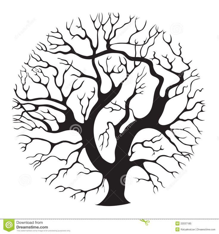 tree circle tattoo - Google Search