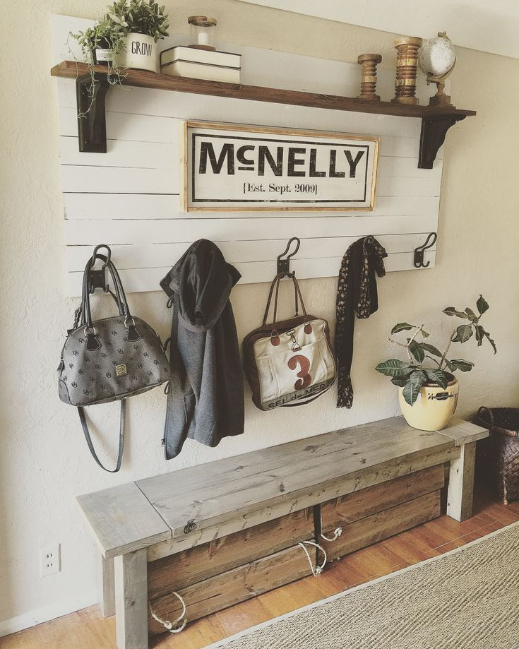 Shiplap Coat Rack