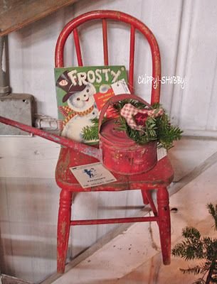 vintage christmas...love the Frosty record...need to find one!  The search is on!
