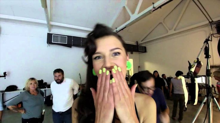 Fabulous Faby Backstage Video