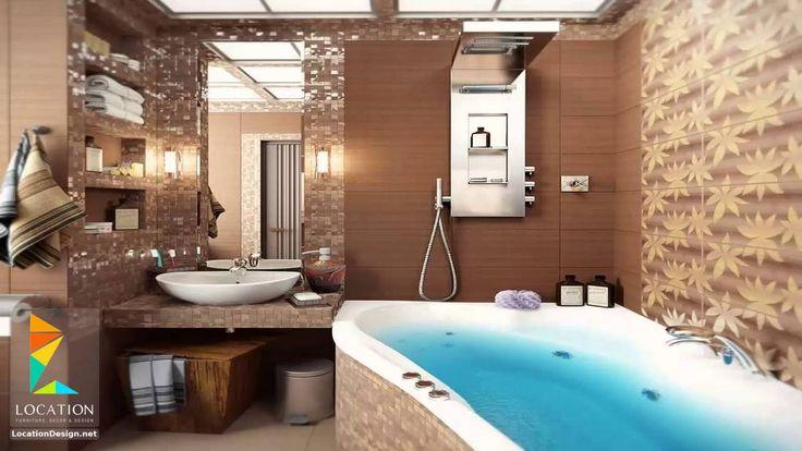 أحدث واجمل سيراميك حمامات مودرن للأرضيات والجدران حمامات Pinterest - luxusbad whirlpool