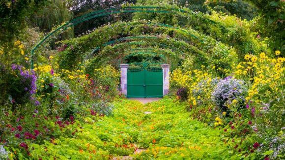 モネの庭、ジヴェルニー、フランス