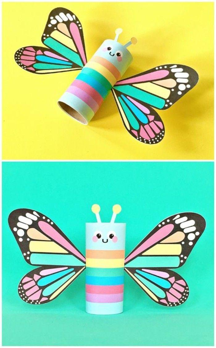 Schmetterlinge Basteln Wir Helfen Mit 100 Ideen Dabei Diy Deko