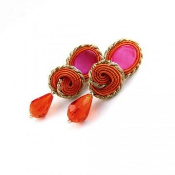 earrings - soutache-lajita