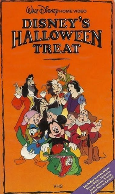 Disney's Halloween Treat (1982) - A collection of Halloween-themed clips that was aired as part of the Wonderful World of Disney television show. The VHS is rare; no DVD has been released.