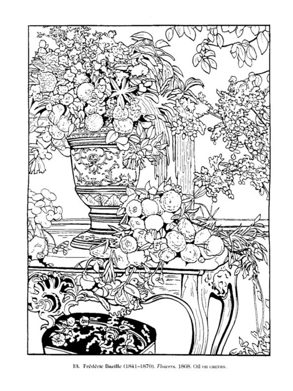 Flower Nook Coloring Book 14 Best Adult Pages Images On Pinterest