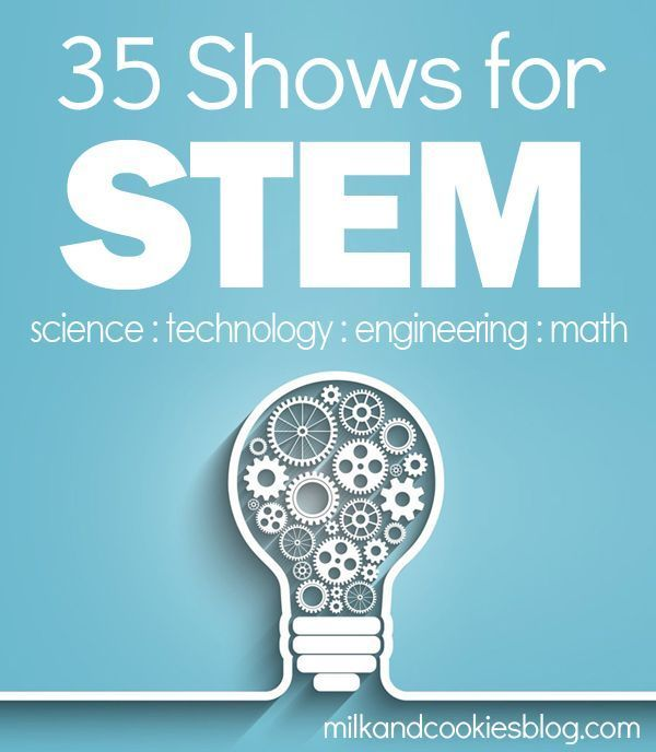 Online shows for STEM learning (science, technology, engineering, math)
