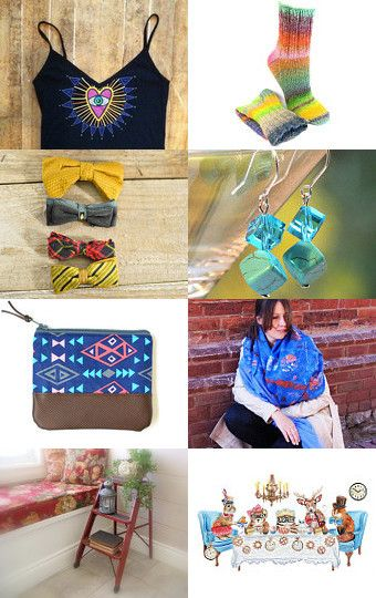 Colour Burst by The Canadian Collective on Etsy--Pinned with TreasuryPin.com #etsy #handmadegifts