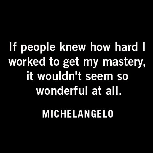 michelangelo #quote                                                                                                                                                                                 More