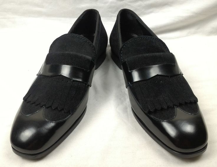 100% Authentic JIMMY CHOO Men Leather Shoes Size 43 Italy #JIMMYCHOO #MenShoes