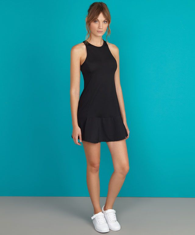 Tennis dress with interior shorts - OYSHO