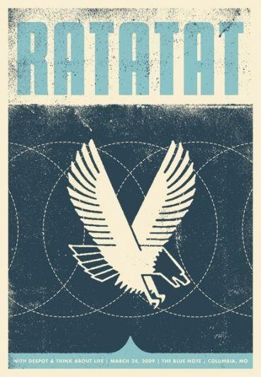 Ratatat : Garrett Karol #illustration #inspiration #design