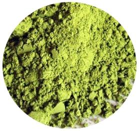"""""""Té Verde Matcha"""" Té verde de alta calidad en polvo. Es el utilizado en la ceremonia del té japonés y muy indicado para repostería (helados, batidos, tartas…). 30€ / 100 gr."""