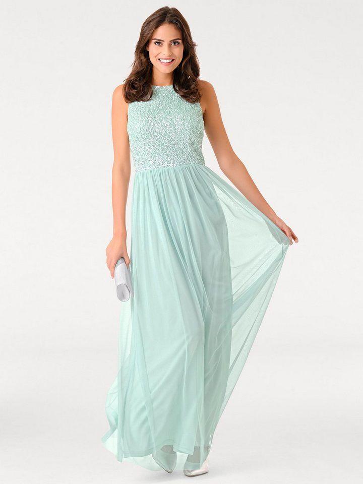 9d568c50e861b2 heine TIMELESS Abendkleid mit Pailletten für 96,99€. Edel glänzend, Mit  Pailletten