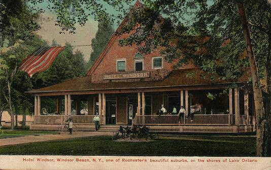 Hotel Windsor Beach Lake Ontario West Irondequoit Ny Rochester Pinterest And Lakes