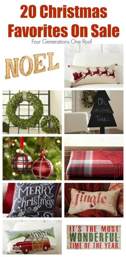 My 20 Christmas Favorites on Sale -Columbus Day Weekend Sale