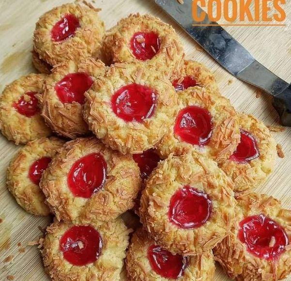 Resep Strawberry Thumbprint Cookies 1000 Resep Masakan Mudah Kue Kering Resep Kue