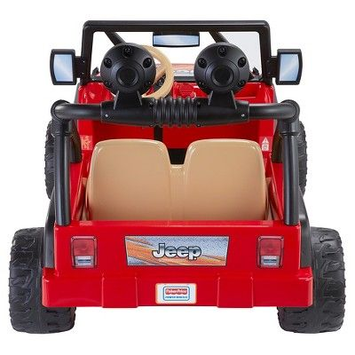 Fisher-Price Power Wheels Jeep Wrangler - Red